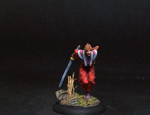 Chiyo Female Warrior
