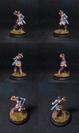 Coolminornot Zombicide Lividia Female Fighter