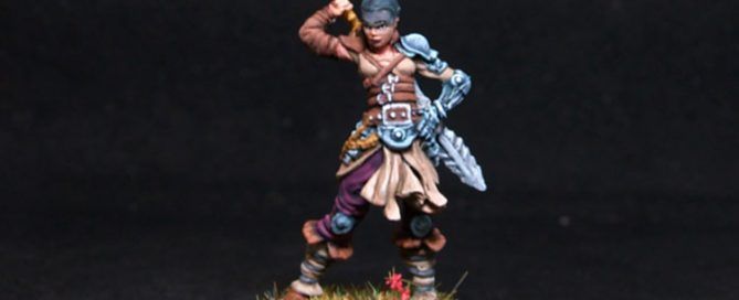 Coolminornot Zombicide Lividia Female Fighter