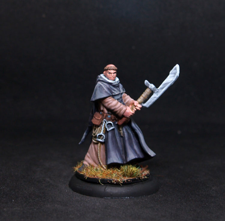 Coolminornot Zombicide Thomas Male Fighter