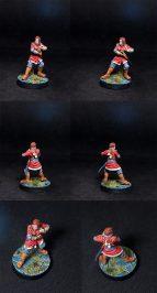 Bushido miniatures Wamu Female Assassin