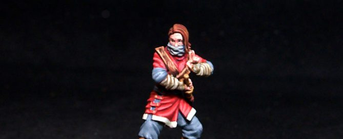 Bushido miniatures Wamu Female Assassin