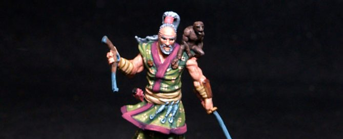 Bushido miniatures Yuji Male Pirate