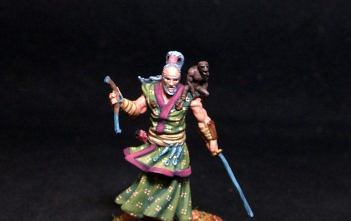 Bushido miniatures Yuji Male Pirate