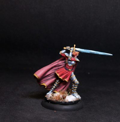 Coolminiornot Zombicide Jeanne Female Paladin