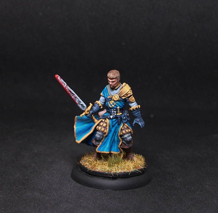 Coolminornot Zombicide Ryan John Male Fighter