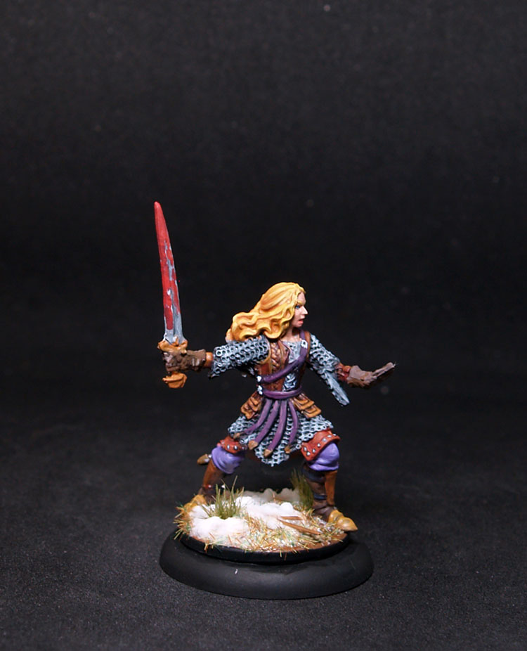 Coolminornot Zombicide Ygraine Female Fighter