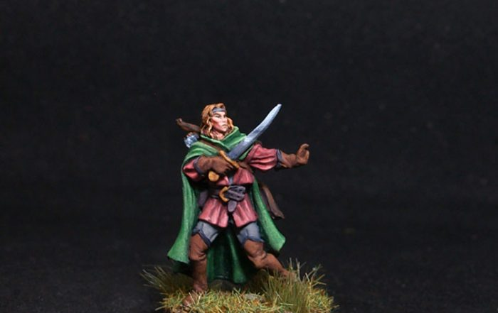 Red Box miniatures Aleandous the Errant