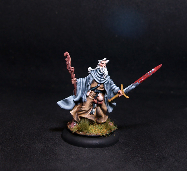 Coolminiornot Zombicide Baldric Male Druid