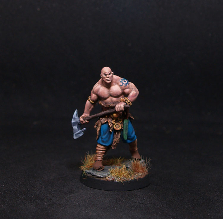 Red Box miniatures Njallr the RuneBearer