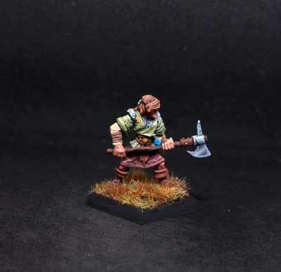 Tom Male human Fighter with Axe