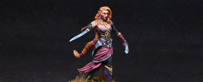 Dark Sword Female Elven Rogue