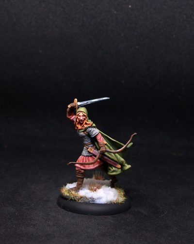 Darksword Female Ranger with Bow and Sword