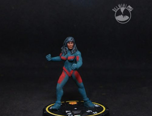 Force Majeure repainted Heroclix