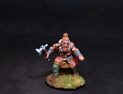 Jaruin Barbarian Male Fighter
