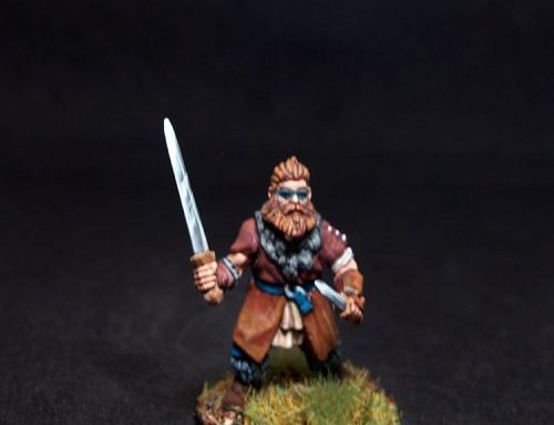 Juldan Barbarian Male Fighter