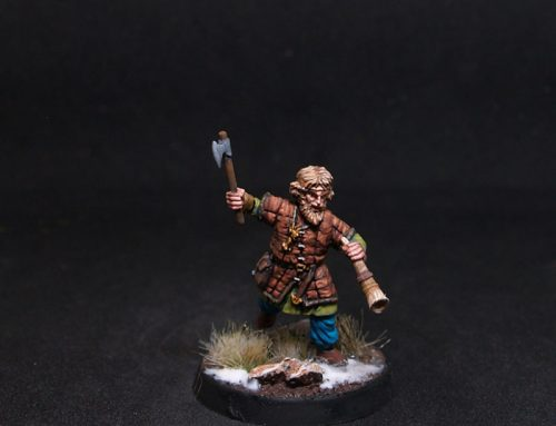 Ove Male Viking Warrior