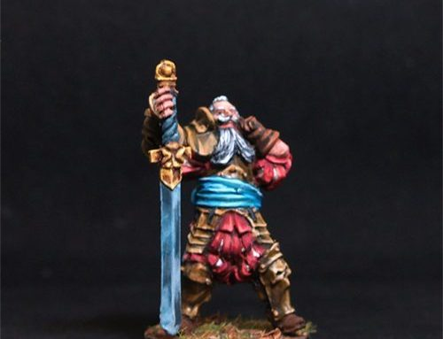 Roland male Warrior w Two handed Sword