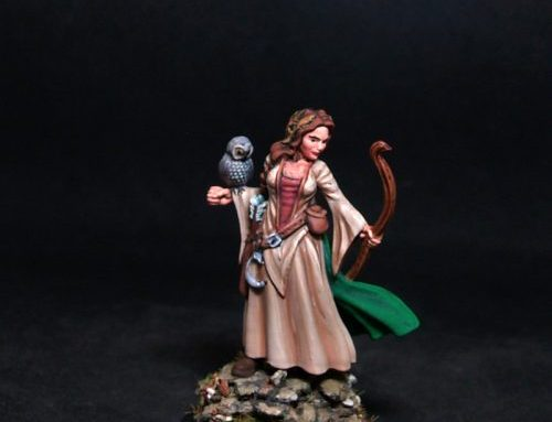 Elsa Female Druid
