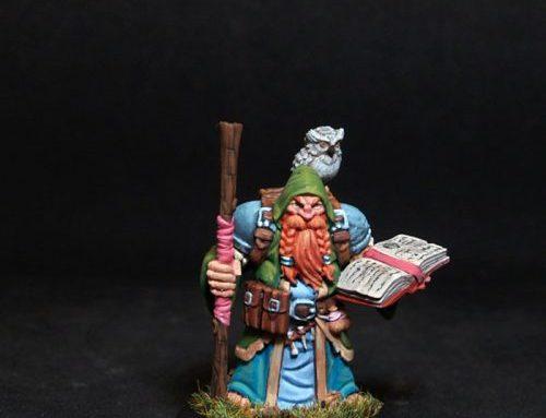 Dramnir dwarf magician