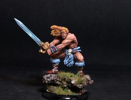 Brom Barbarian Warrior