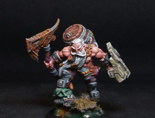 Gino Brewmaster Dwarf Fighter