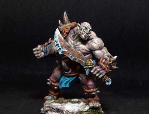Obukurk Ogre Warrior Leader