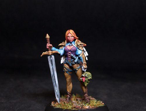 Danya Female Hunter-Fighter