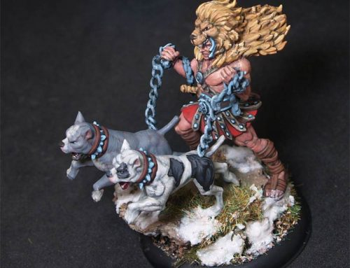 Herak Dog Tamer Fighter