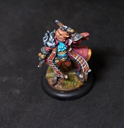 Male pirate.Rpg character.Hand painted miniature.Printed
