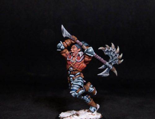 Varekh Male Barbarian Warrior