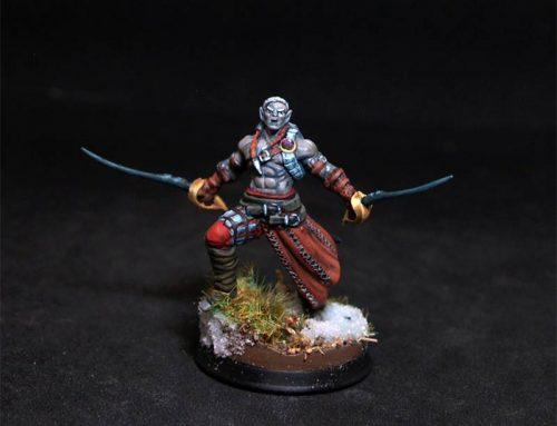 Elir Male Dark Elf Warrior