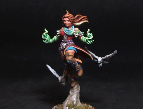 Genevieve Female Witch