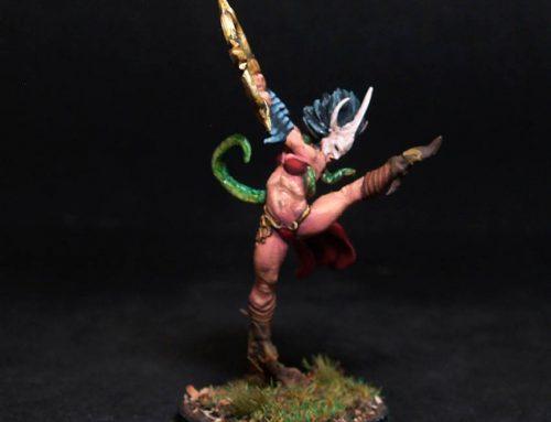 Leyan Female Death Dancer