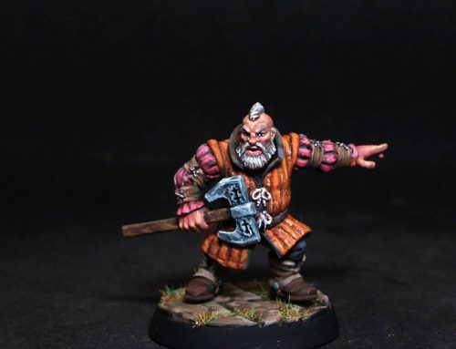 Letrtroy Male Dwarf Adventurer